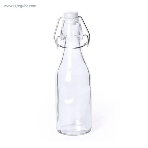 Botella de cristal 260 ml blanca - RG regalos publicitarios