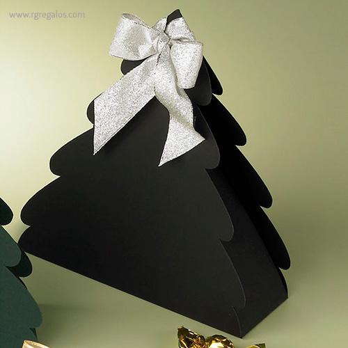 Cajas chocolates navidad árbol - RG regalos publicitarios