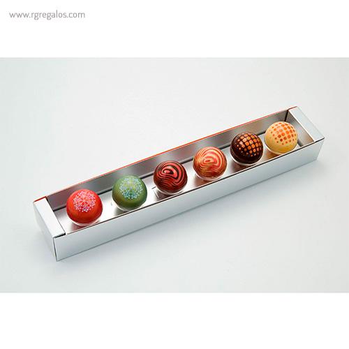 Cajas chocolates navidad estuche - RG regalos publicitarios