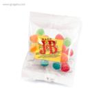 Estuche plástico con caramelos bolsa - RG regalos publicitarios