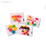 Estuche plástico con caramelos bolsas- RG regalos publicitarios