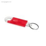 Llavero en forma de candado rojo - RG regalos publicitarios
