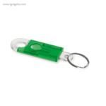 Llavero en forma de candado verde - RG regalos publicitarios