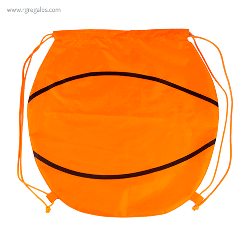 Mochila plana en forma de balón baloncesto - RG r