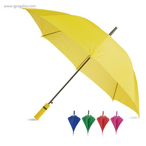 Paraguas automático mango de eva
