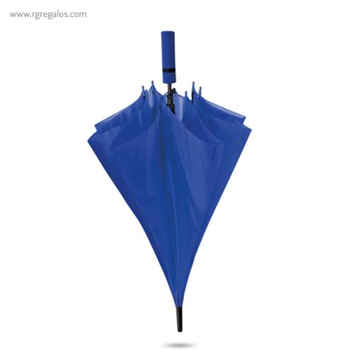 Paraguas automático mango de eva azul - RG regalos publicitarios