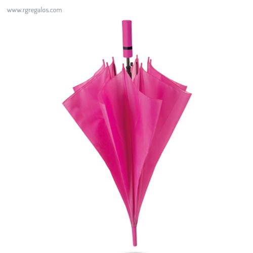 Paraguas automático mango de eva fucsia - RG regalos publicitarios