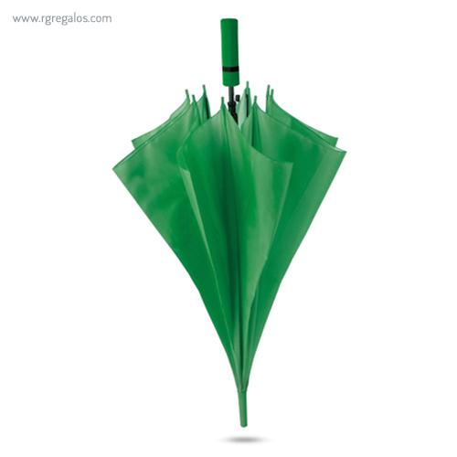 Paraguas automático mango de eva verde - RG regalos publicitarios