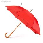 Paraguas mango y caña de madera - RG regalos publicitarios