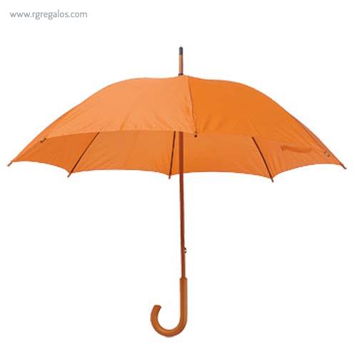 raguas mango y caña de madera naranja - RG regalos publicitarios