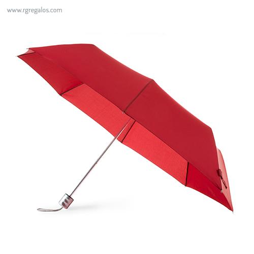 Paraguas plegable poliéster abierto - RG regalos publicitarios