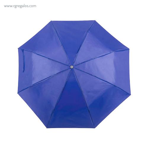 Paraguas plegable poliéster azul - RG regalos publicitarios