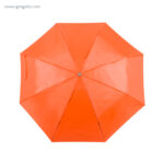 Paraguas plegable poliéster naranja - RG regalos publicitarios