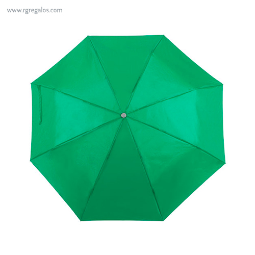 Paraguas plegable poliéster verde - RG regalos publicitarios