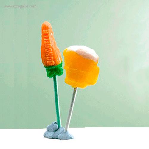 Piruletas formas especiales 3D - RG regalos publicitarios