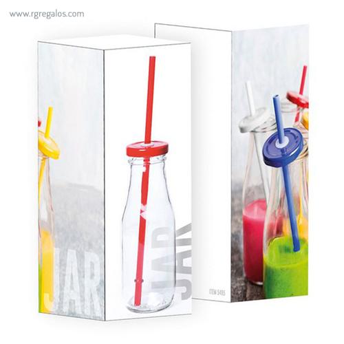 Tarro de cristal 320 ml caja - RG regalos publicitarios