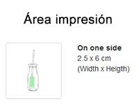 Tarro de cristal 320 ml impresión - RG regalos publicitarios