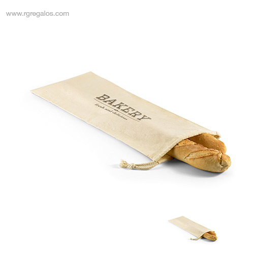 Bolsa pan 100% algodón - RG regalos de empresa