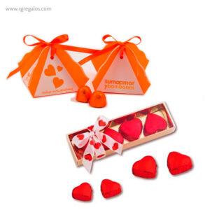 Cajas bombones San Valentín -RG regalos publicitarios