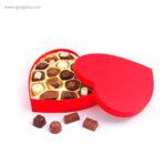 Cajas bombones San Valentín corazón -RG regalos publicitarios