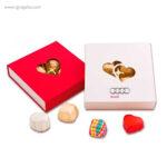 Cajas bombones San Valentín quadrada -RG regalos publicitarios