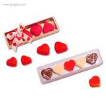 Cajas bombones San Valentín rectangular -RG regalos publicitarios