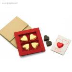 Cajas bombones San Valentín targeta -RG regalos publicitarios