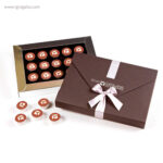 Cajas con bombones personalizados 15 bombones - RG regalos publicitarios