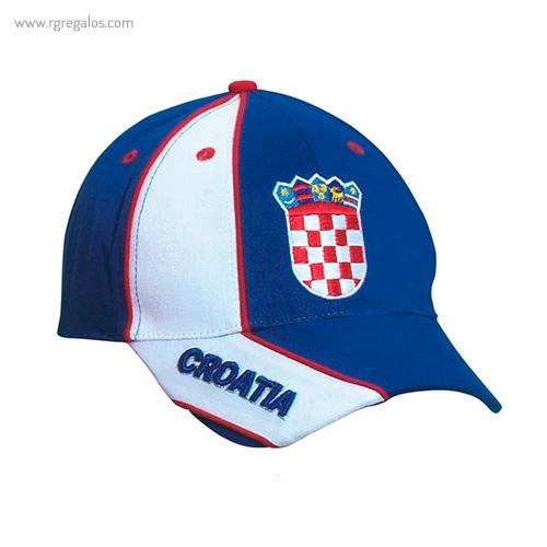Gorra países con escudo Croacia - RG regalos publicitarios