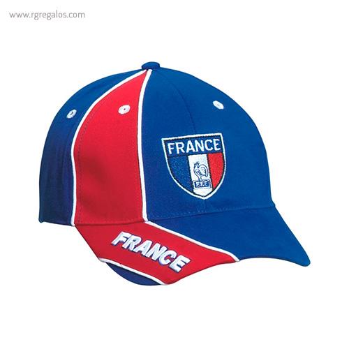 Gorra países con escudo Francia - RG regalos publicitarios