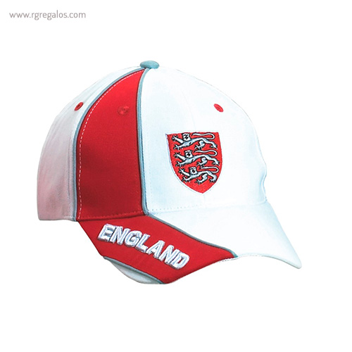 Gorra países con escudo Inglaterra - RG regalos publicitarios