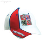 Gorra países con escudo República Checa - RG regalos publicitarios