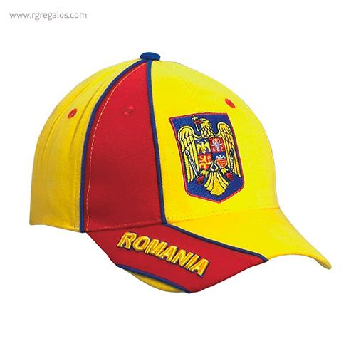Gorra países con escudo Romania - RG regalos publicitarios