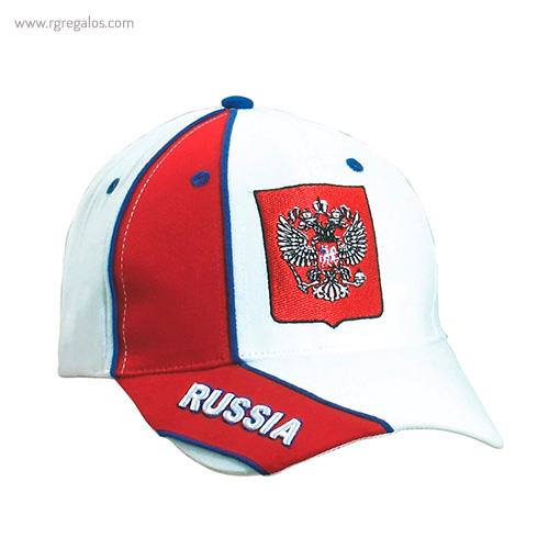 Gorra países con escudo Rusia - RG regalos publicitarios