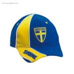 Gorra países con escudo Suecia - RG regalos publicitarios