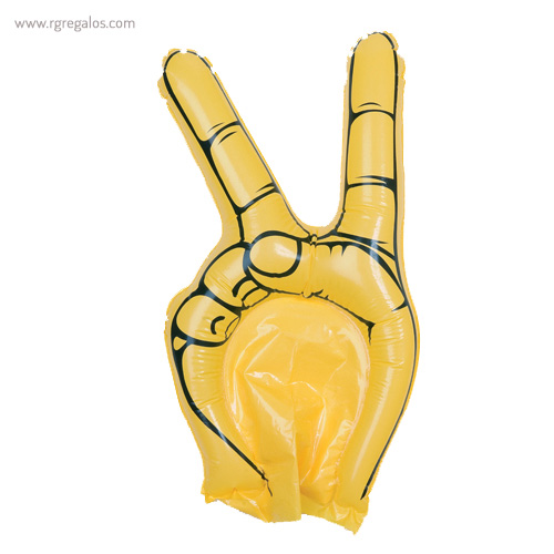 Mano animación hinchable amarilla - RG regalos publicitarios