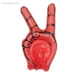 Mano animación hinchable roja - RG regalos public