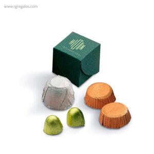 Mini estuches de bombones Dado - RG regalos publicitarios