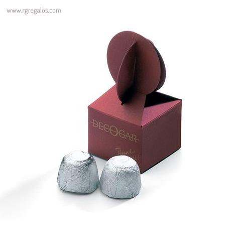 Mini estuches de bombones Milano - RG regalos publicitarios