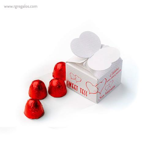 Mini estuches de bombones mariposa - RG regalos publicitarios