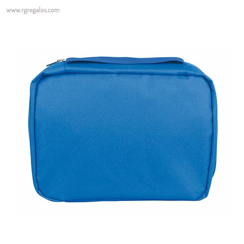 Neceser personalizado con compartimentos azul - RG regalos publicitarios