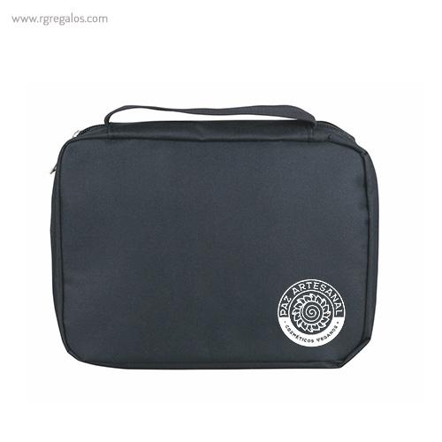 Neceser personalizado con compartimentos logotipo - RG regalos publicitarios