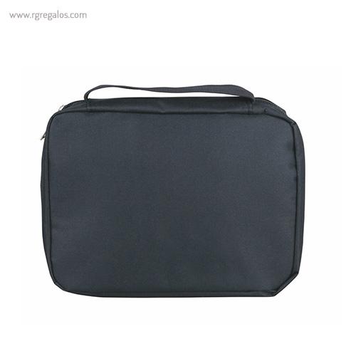 Neceser personalizado con compartimentos negro - RG regalos publicitarios