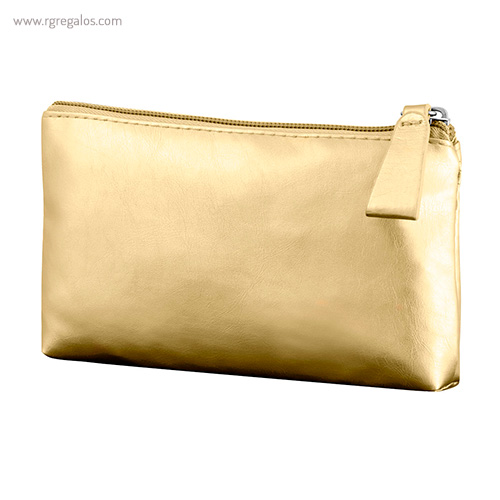Neceser publicitario colores brillantes oro - RG regalos publicitarios