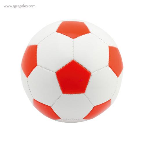 Pelota fútbol stock roja - RG regalos publicitarios