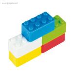 Sacapuntas formas construcción colores - RG regalos publicitarios