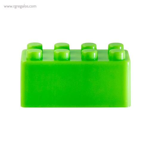 Sacapuntas formas construcción verde - RG regalos publicitarios