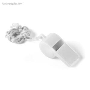 Silbato con cordón blanco - RG rgalos publicitarios