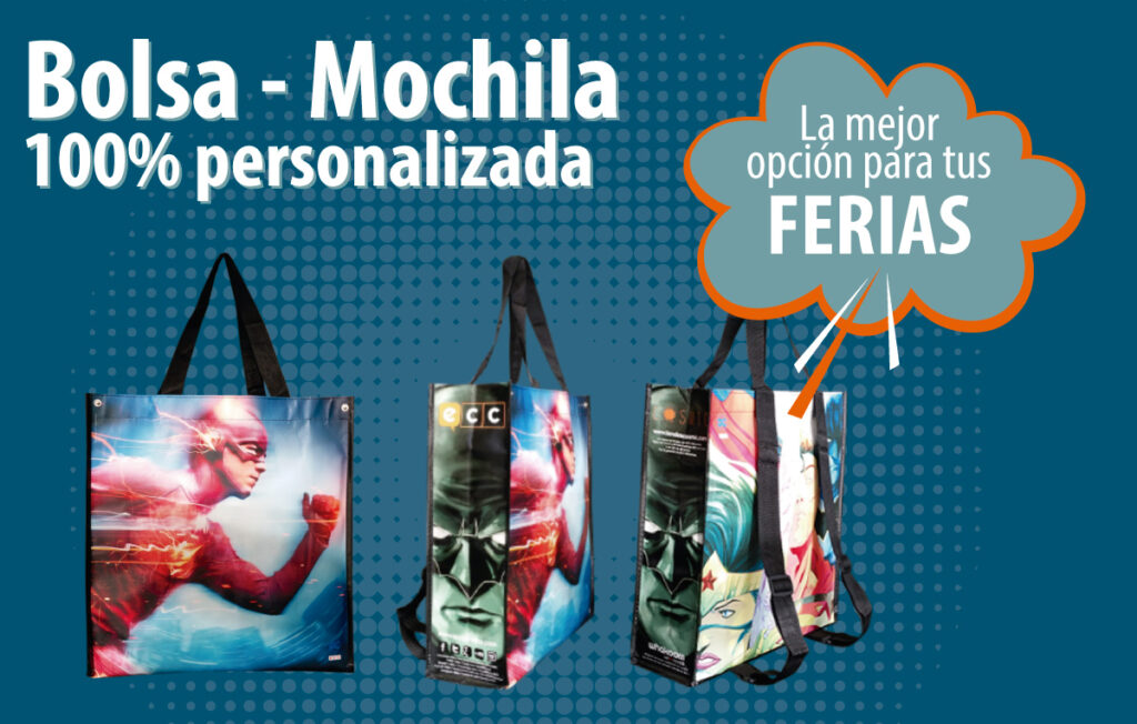 Bolsas publicitarias !00% personalizadas - RG regalos publicitarios