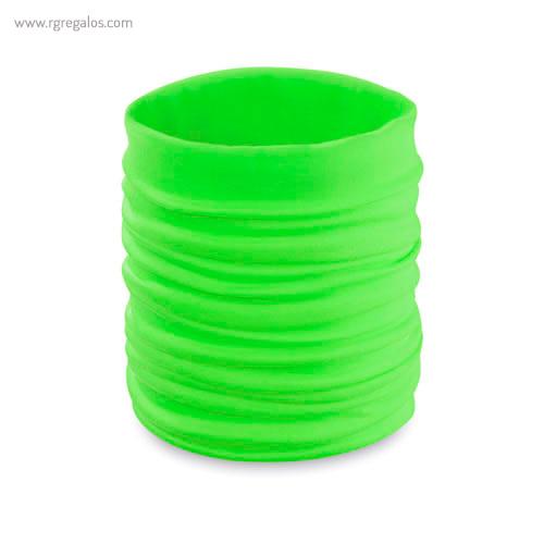 Braga para cuello fluorescente verde - RG regalos publicitarios